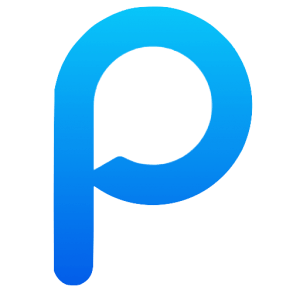 Poppin logo P only